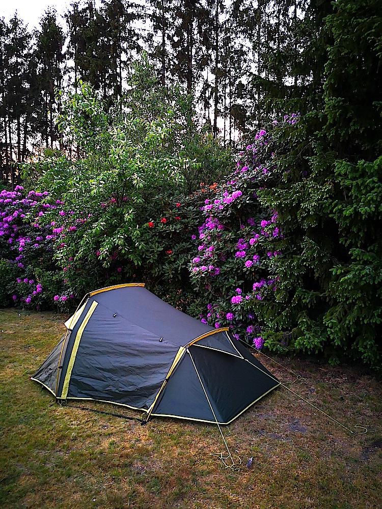 Camping auf dem Heidschnuckenweg