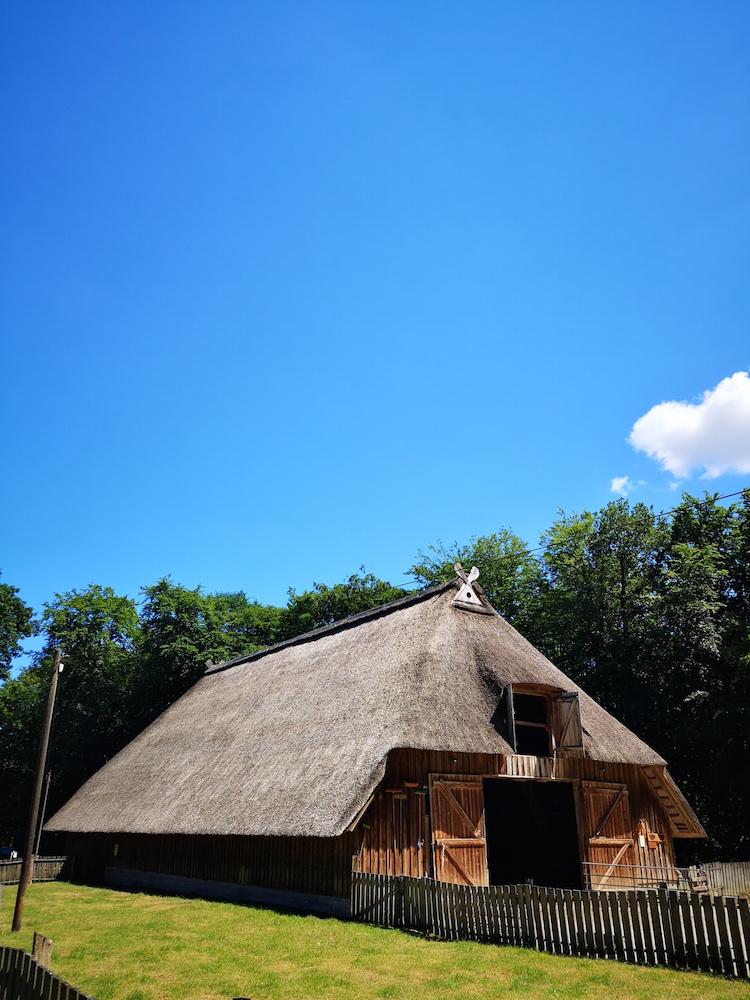 """Der Stall neben dem Infohaus """"Schafstall"""""""