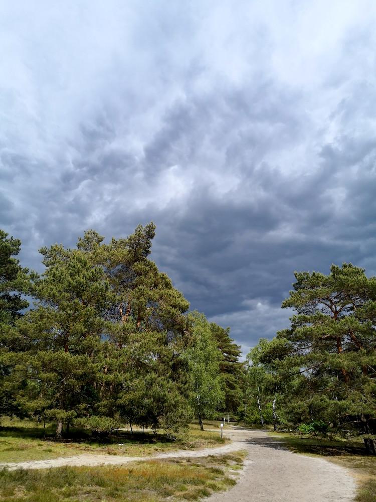 Beeindruckendes Wolkenschauspiel
