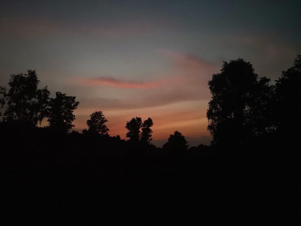 Nacht in der Heide