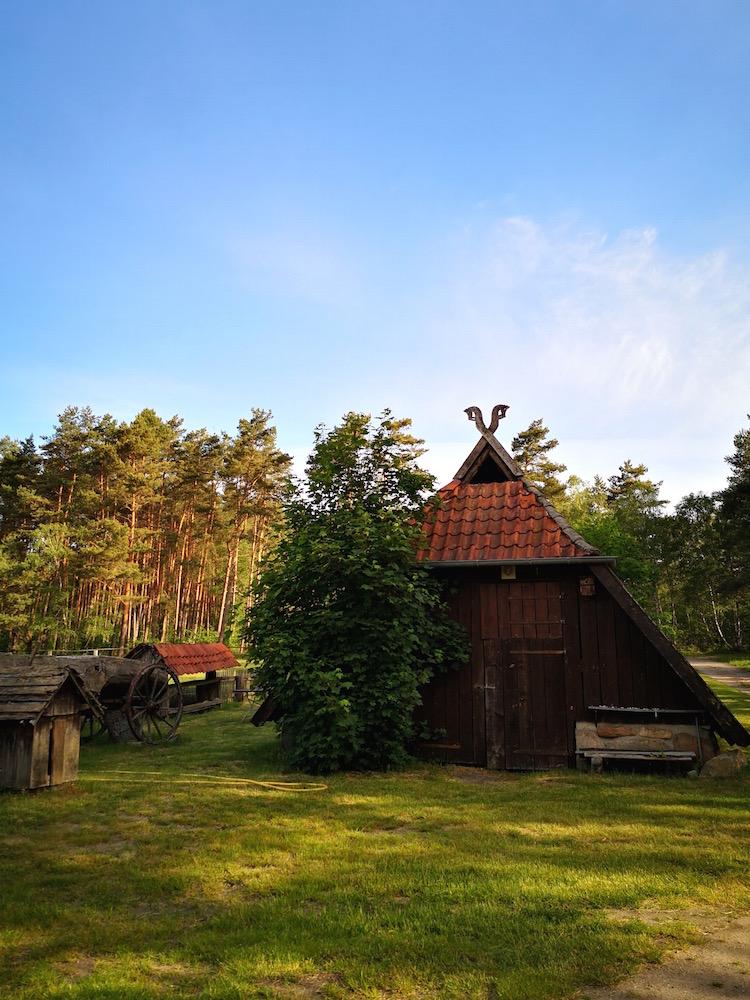 Das Heuhotel in Dehningshof