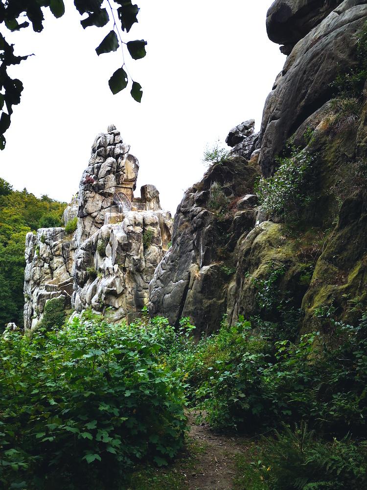 Steine vom Hermannsweg aus