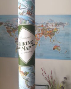Hiking Map von Awesome Maps